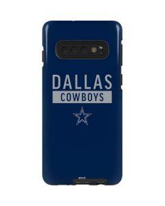 Dallas Cowboys Blue Performance Series Galaxy S10 Pro Case
