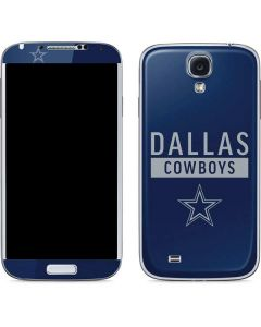 Dallas Cowboys Blue Performance Series Galaxy S4 Skin