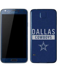 Dallas Cowboys Blue Performance Series Galaxy S5 Skin
