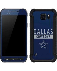 Dallas Cowboys Blue Performance Series Galaxy S6 Active Skin