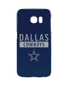 Dallas Cowboys Blue Performance Series Galaxy S6 Lite Case