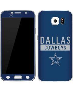 Dallas Cowboys Blue Performance Series Galaxy S6 Skin