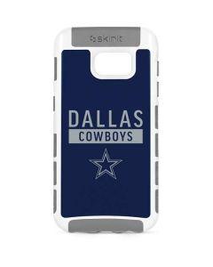 Dallas Cowboys Blue Performance Series Galaxy S7 Cargo Case