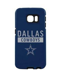Dallas Cowboys Blue Performance Series Galaxy S7 Edge Pro Case
