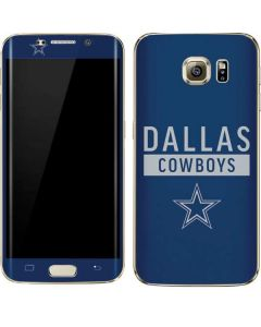 Dallas Cowboys Blue Performance Series Galaxy S7 Edge Skin
