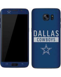 Dallas Cowboys Blue Performance Series Galaxy S7 Skin