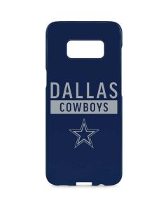 Dallas Cowboys Blue Performance Series Galaxy S8 Plus Lite Case