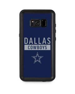 Dallas Cowboys Blue Performance Series Galaxy S8 Plus Waterproof Case