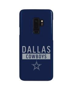 Dallas Cowboys Blue Performance Series Galaxy S9 Plus Lite Case