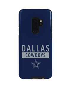 Dallas Cowboys Blue Performance Series Galaxy S9 Plus Pro Case