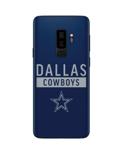 Dallas Cowboys Blue Performance Series Galaxy S9 Plus Skin
