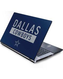 Dallas Cowboys Blue Performance Series Generic Laptop Skin