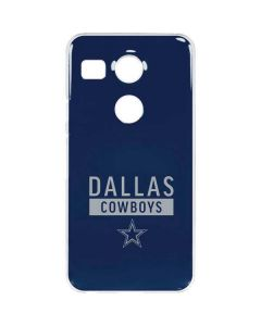 Dallas Cowboys Blue Performance Series Google Nexus 5X Clear Case