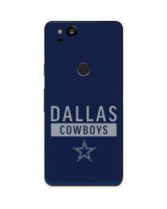 Dallas Cowboys Blue Performance Series Google Pixel 2 Skin