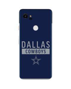 Dallas Cowboys Blue Performance Series Google Pixel 2 XL Skin
