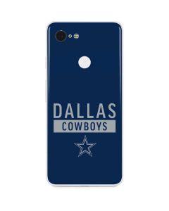 Dallas Cowboys Blue Performance Series Google Pixel 3 Skin