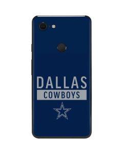 Dallas Cowboys Blue Performance Series Google Pixel 3 XL Skin