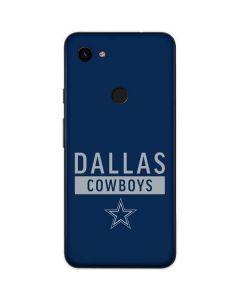 Dallas Cowboys Blue Performance Series Google Pixel 3a XL Skin