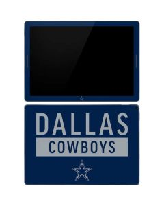 Dallas Cowboys Blue Performance Series Google Pixel Slate Skin