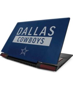 Dallas Cowboys Blue Performance Series Lenovo Ideapad Skin