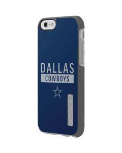 Dallas Cowboys Blue Performance Series Incipio DualPro Shine iPhone 6 Skin
