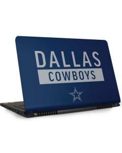 Dallas Cowboys Blue Performance Series Dell Inspiron Skin