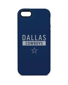 Dallas Cowboys Blue Performance Series iPhone 5/5s/SE Pro Case