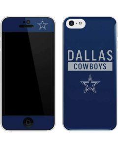 Dallas Cowboys Blue Performance Series iPhone 5c Skin
