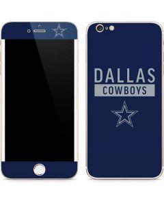 Dallas Cowboys Blue Performance Series iPhone 6/6s Plus Skin