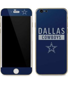 Dallas Cowboys Blue Performance Series iPhone 6/6s Skin
