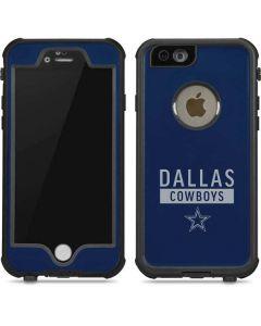 Dallas Cowboys Blue Performance Series iPhone 6/6s Waterproof Case