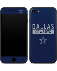 Dallas Cowboys Blue Performance Series iPhone 7 Skin