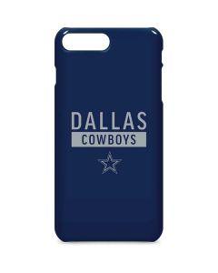Dallas Cowboys Blue Performance Series iPhone 8 Plus Lite Case