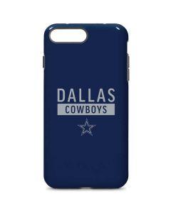 Dallas Cowboys Blue Performance Series iPhone 8 Plus Pro Case
