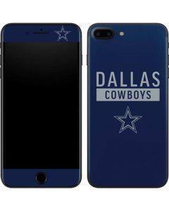 Dallas Cowboys Blue Performance Series iPhone 8 Plus Skin