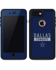 Dallas Cowboys Blue Performance Series iPhone 8 Plus Waterproof Case