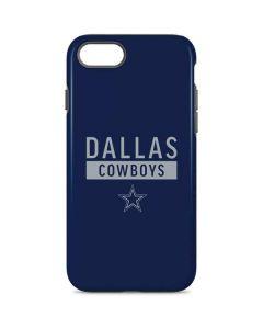 Dallas Cowboys Blue Performance Series iPhone 8 Pro Case