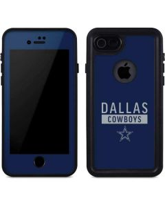 Dallas Cowboys Blue Performance Series iPhone 8 Waterproof Case