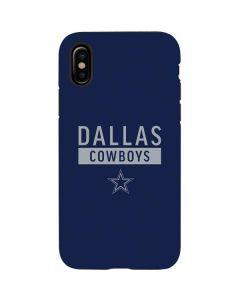 Dallas Cowboys Blue Performance Series iPhone X Pro Case