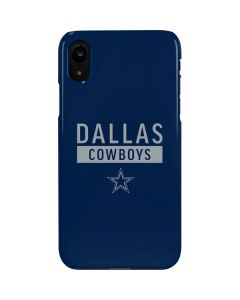 Dallas Cowboys Blue Performance Series iPhone XR Lite Case