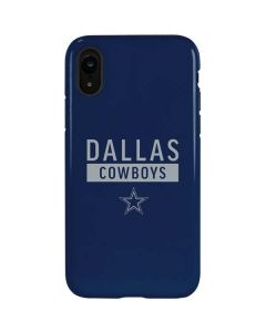 Dallas Cowboys Blue Performance Series iPhone XR Pro Case