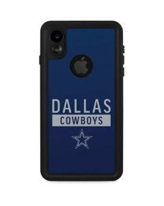 Dallas Cowboys Blue Performance Series iPhone XR Waterproof Case