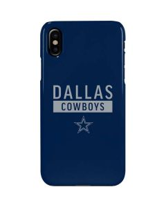 Dallas Cowboys Blue Performance Series iPhone XS Max Lite Case