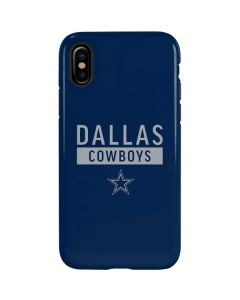 Dallas Cowboys Blue Performance Series iPhone XS Max Pro Case