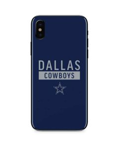 Dallas Cowboys Blue Performance Series iPhone XS Max Skin