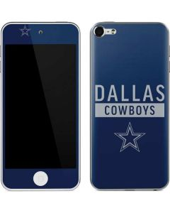Dallas Cowboys Blue Performance Series Apple iPod Skin