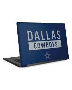 Dallas Cowboys Blue Performance Series Dell Latitude Skin