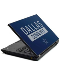 Dallas Cowboys Blue Performance Series Lenovo T420 Skin