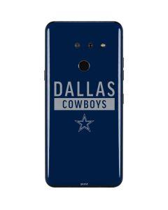 Dallas Cowboys Blue Performance Series LG G8 ThinQ Skin