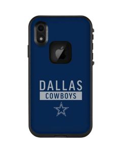 Dallas Cowboys Blue Performance Series LifeProof Fre iPhone Skin